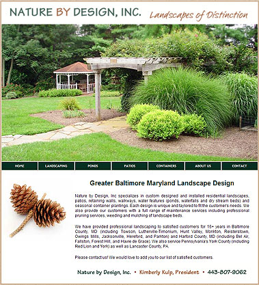 Maryland Landscape, Pond & Patio Design and Installation
